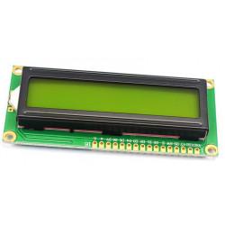 LCD1602 green 3.3v 80.5x36.5mm