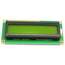 LCD1602 green 5v 80.5x36.5mm