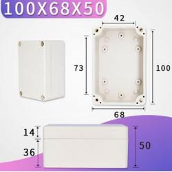 100x68x50mm waterproof...