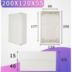 200x120x55mm waterproof...