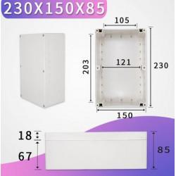 230x150x85mm waterproof...