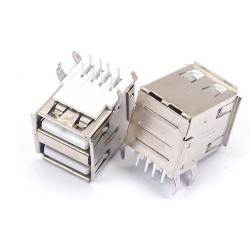 Dual USB horizontal mounting
