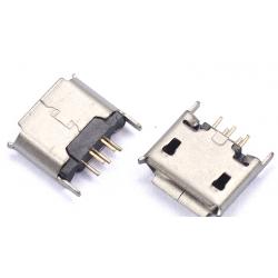 Micro USB Vertical Through...